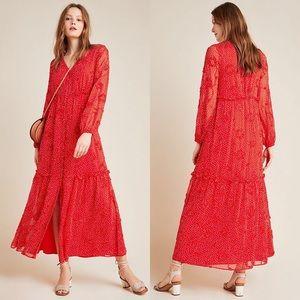 Sunday in Brooklyn Miranda textured maxi dress NWT